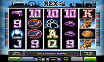 Slot machine Rex
